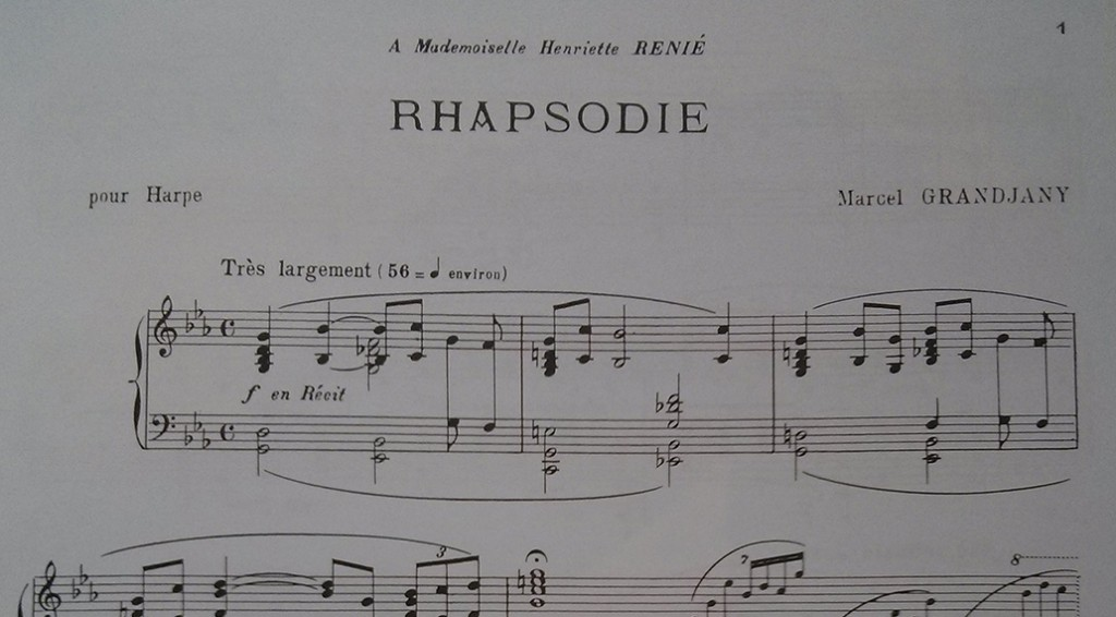 Grandjany's Rhapsodie