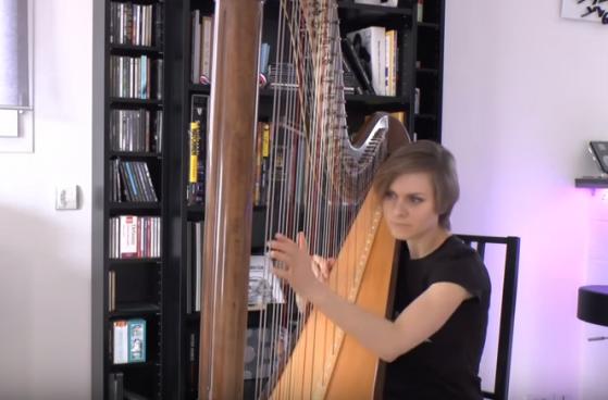 game of thrones harp