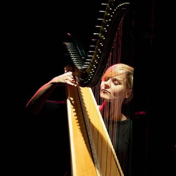 Alexandra King - Glissando Harp Ensemble