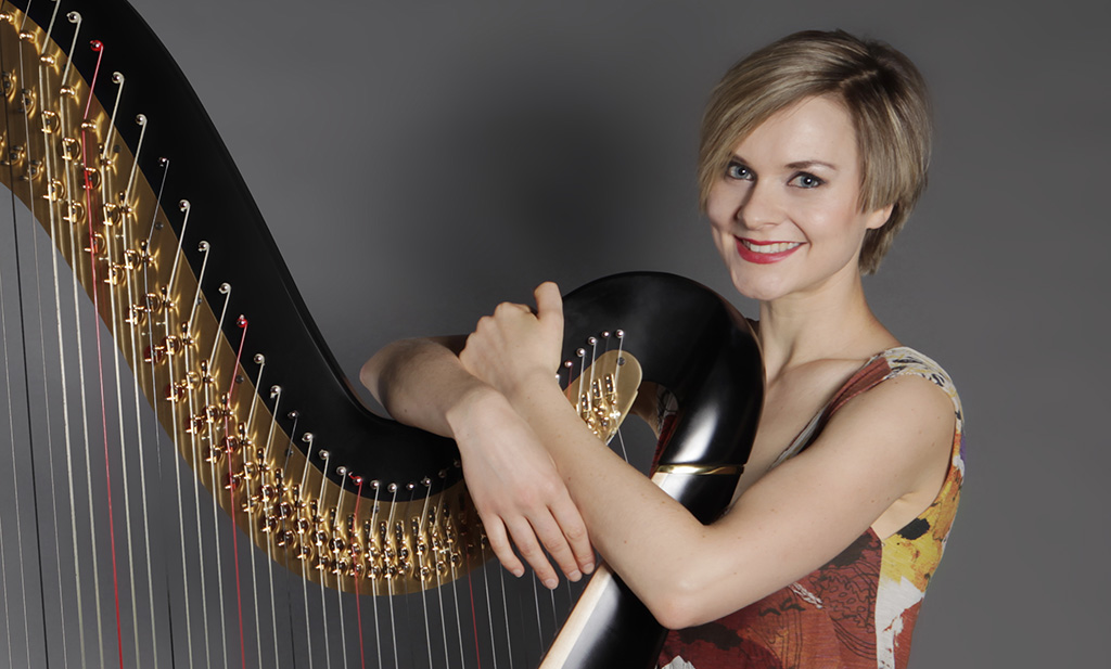 alexandra king studio harpist