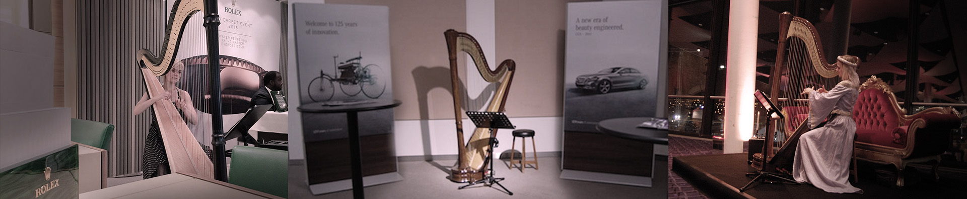 corporate-harpist-hire